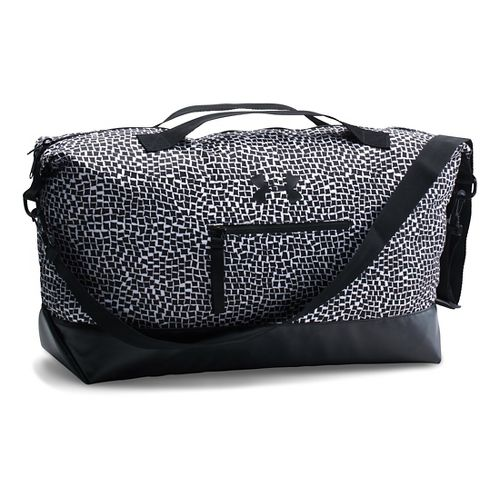 Womens Under Armour On The Run Weekender Bags - Black/Black