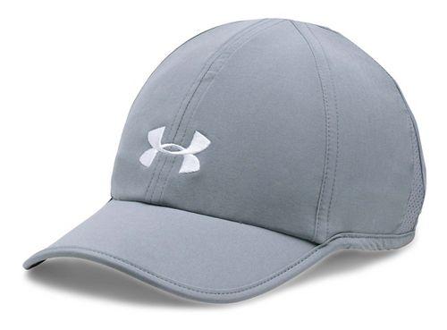 Womens Under Armour Shadow Cap 2.0 Headwear - Grey