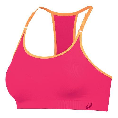 Womens ASICS ASX Seamless Sports Bras - Azalea M/L