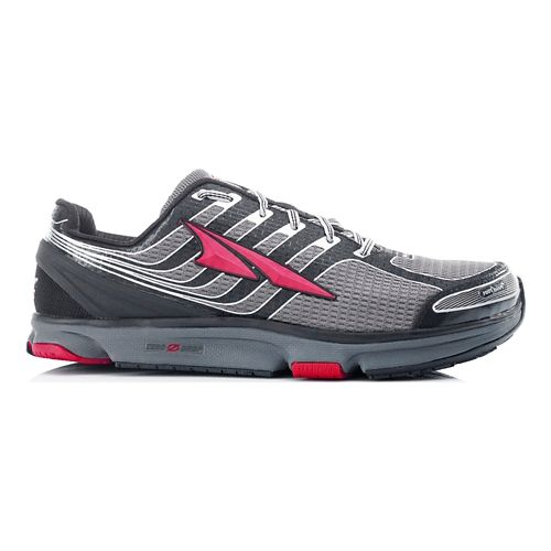Mens Altra Provision 2.5 Running Shoe - Black/Racing Red 7