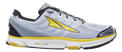 Mens Altra Provision 2.5 Running Shoe - Silver/Cyber Yellow 8.5
