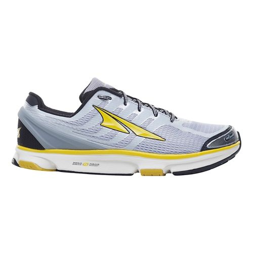 Mens Altra Provision 2.5 Running Shoe - Silver/Cyber Yellow 9