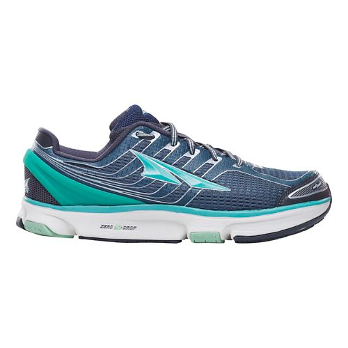 Womens Altra Provision 2.5 Running Shoe - Peacock/Silver 10.5