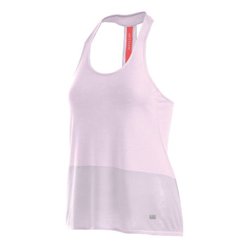 Womens ASICS Burnout Sleeveless & Tank Technical Tops - Lilac M