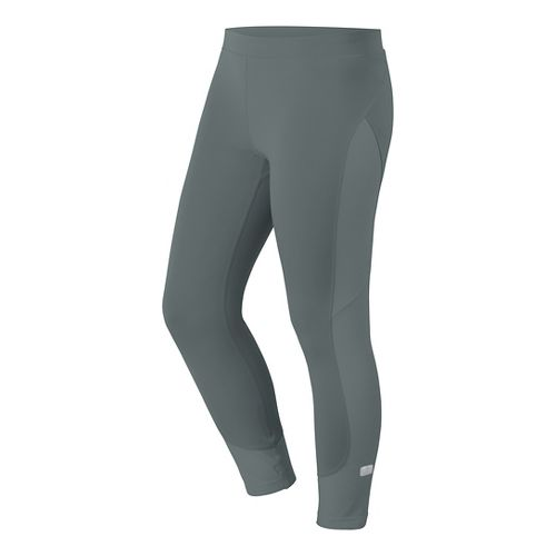 Womens ASICS Crop Tights & Leggings Pants - Shark M