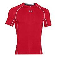 Mens Under Armour HeatGear Compression T Short Sleeve Technical Tops