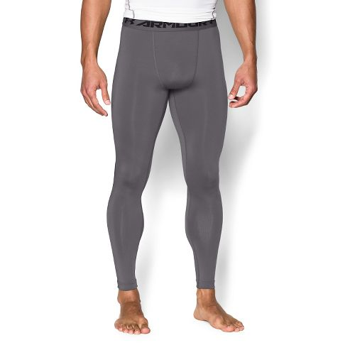Mens Under Armour HeatGear Compression Tights & Leggings Pants - Graphite/Black XXL