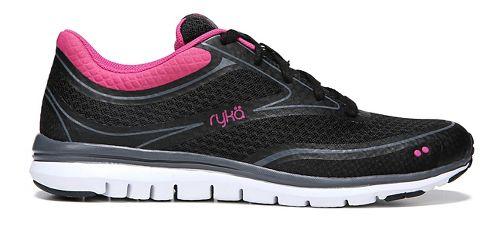 Womens Ryka Charisma Walking Shoe - Black/Pink 7.5