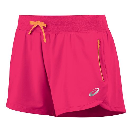 Womens ASICS fuzeX 4 Unlined Shorts - Azalea L