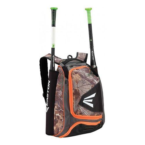 Easton E200P Backpack Bags - Orange/Camo