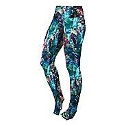 Womens ASICS Graphic Tights & Leggings Pants