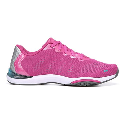 Womens Ryka Achieve Cross Training Shoe - Rose Violet/Bluebird 10
