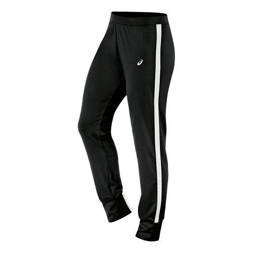 Womens ASICS Lani Pants - Black/White XL
