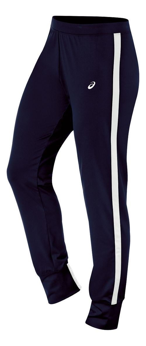Womens ASICS Lani Pants - Navy/White XS