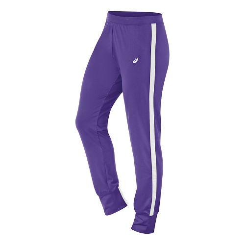 Womens ASICS Lani Pants - Purple/White S