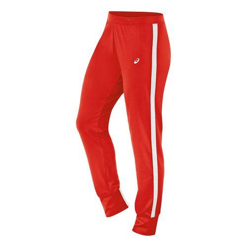 Womens ASICS Lani Pants - Red/White XXL