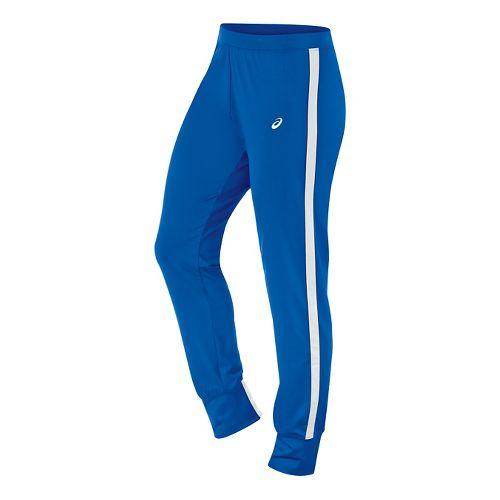 Womens ASICS Lani Tall Pants - Royal/White L-T