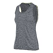 Womens ASICS Mesh Sleeveless & Tank Technical Tops