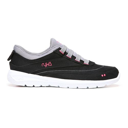 Womens Ryka Halo Casual Shoe - Black/Frost Grey 8