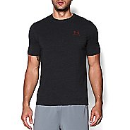 Mens Under Armour Charged Cotton Sportstyle Left Chest Logo T Short Sleeve Technical Tops