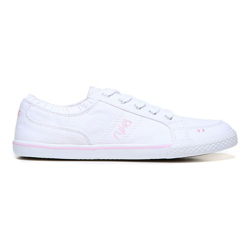 Womens Ryka Emory Casual Shoe - White 6