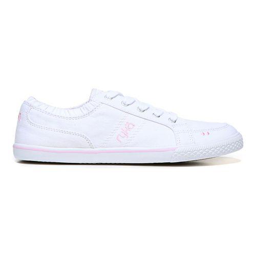 Womens Ryka Emory Casual Shoe - White 9.5