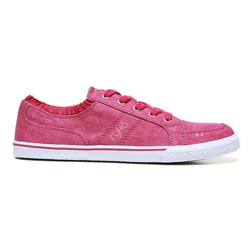 Womens Ryka Emory Casual Shoe - Bright Maroon 10