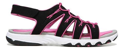 Womens Ryka Glance Sandals Shoe - Black/Pink 7.5