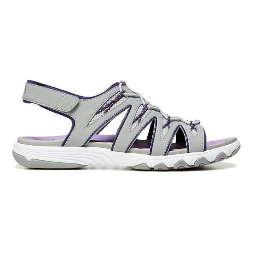 Womens Ryka Glance Sandals Shoe - Ivan the Grey 6