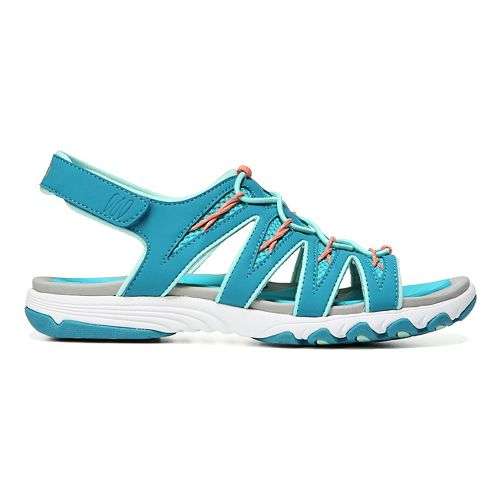Womens Ryka Glance Sandals Shoe - Enamel Blue 8