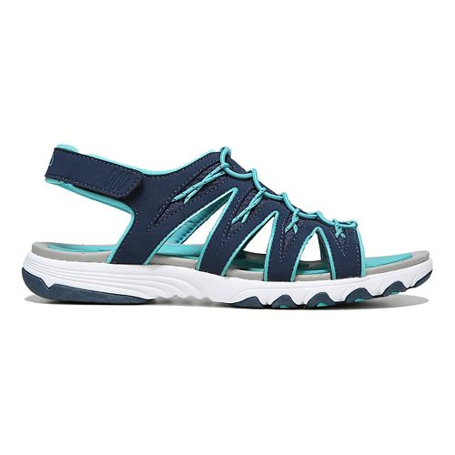 Womens Ryka Glance Sandals Shoe - Blue/Teal 7