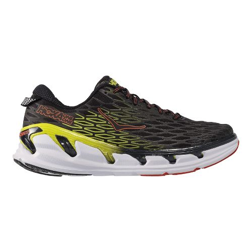 Mens Hoka One One Vanquish 2 Running Shoe - Blue Graphite/Acid 14