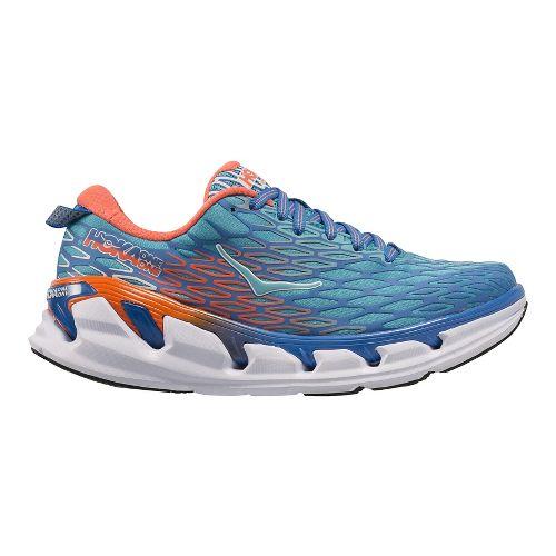 Womens Hoka One One Vanquish 2 Running Shoe - Blue/Blue 7.5