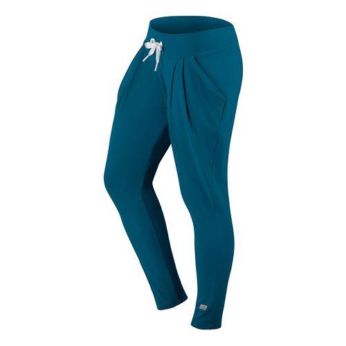 Womens ASICS Sarouel Pants - Dark Teal S
