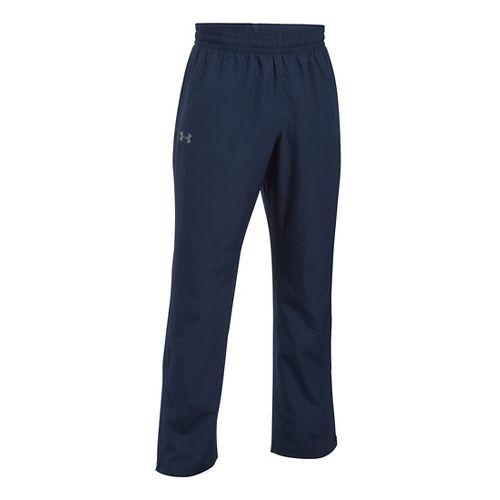 Mens Under Armour Vital Woven Pants - Midnight Navy S