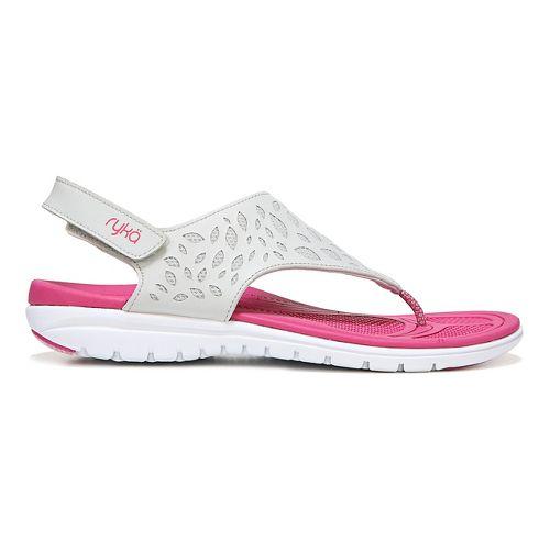 Womens Ryka Scamper Sandals Shoe - Ivan the Grey 9