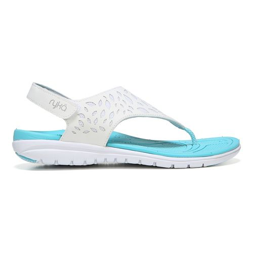 Womens Ryka Scamper Sandals Shoe - White 10