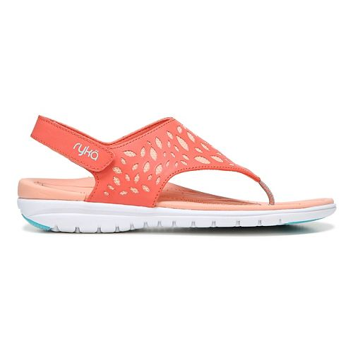 Womens Ryka Scamper Sandals Shoe - Coral Reef 10