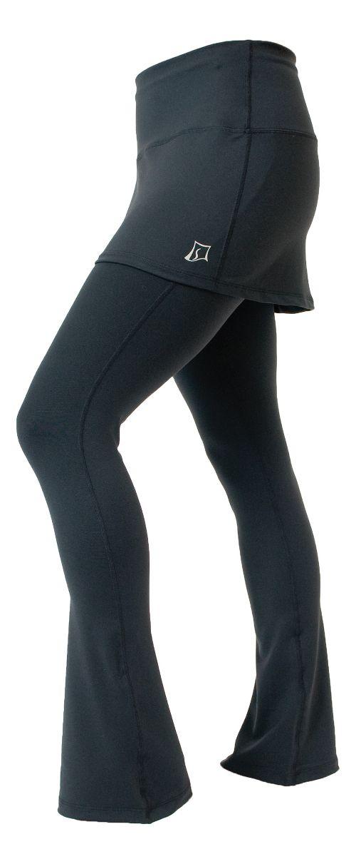 Womens Skirt Sports Tough Girl Fitness Skirts - Black S-R