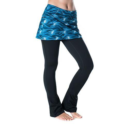Womens Skirt Sports Tough Girl Fitness Skirts - Stargaze/Black L-R