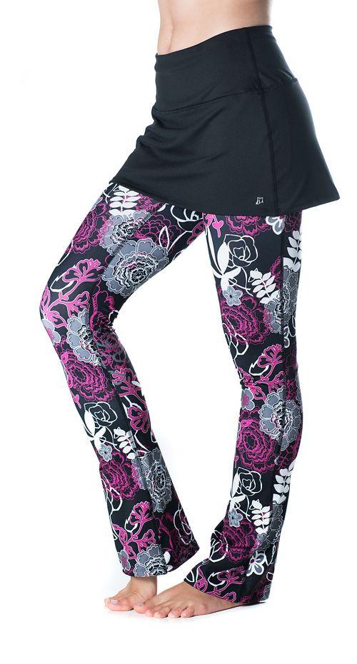 Womens Skirt Sports Tough Girl Fitness Skirts - Black/Enchanted XL-R