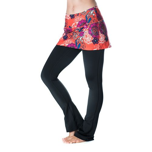 Womens Skirt Sports Tough Girl Fitness Skirts - Frolic/Black S-R