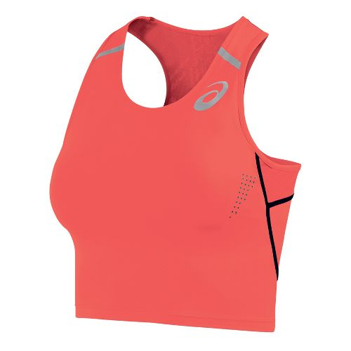 Womens ASICS Top Impact Sports Bras - Flame XS