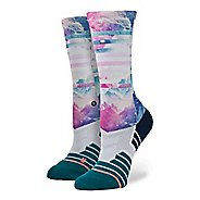 Womens Stance Fusion Athletic Fit Crew Socks