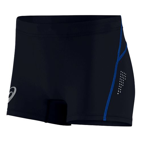 Womens ASICS Top Impact Hot Pant Compression & Fitted Shorts - Black XS
