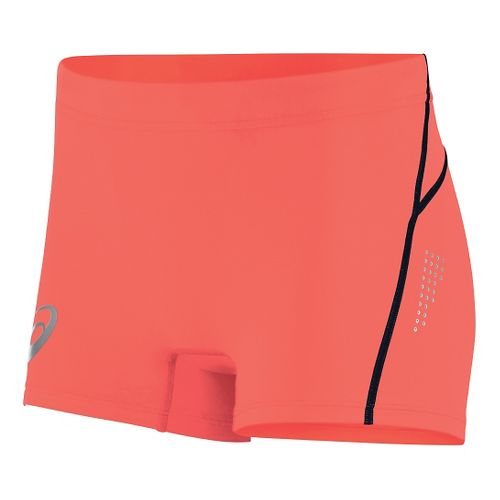 Womens ASICS Top Impact Hot Pant Compression & Fitted Shorts - Flame XS