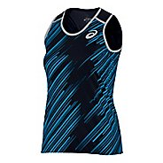 Womens ASICS Impact Singlet Sleeveless & Tank Technical Tops