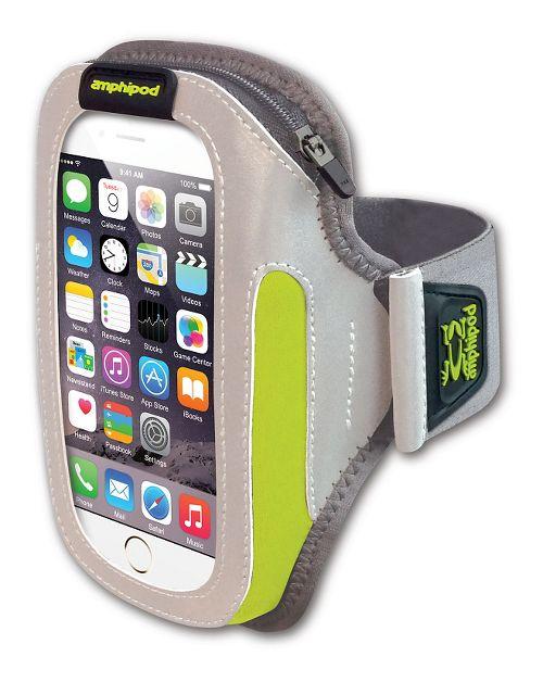 Amphipod Reflective Burst ArmPod SmartView Sumo Fitness Equipment - Silver/Hi-Viz
