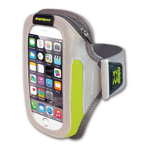 Amphipod Reflective Burst ArmPod SmartView Sumo Fitness Equipment - Silver/Hi-Viz