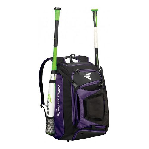 Easton Walk Off Bat Pack Bags - Purple/Black